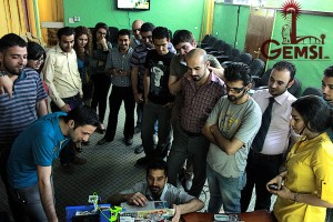 GEMSI conducts a 3D printing workshop in Baghdad