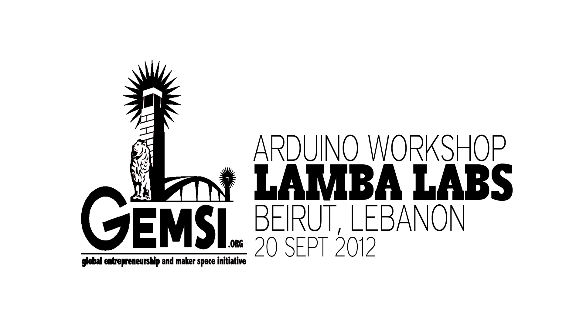 Arduino Workshop_Screen_Lamba Labs_Beirut_9Sept2012