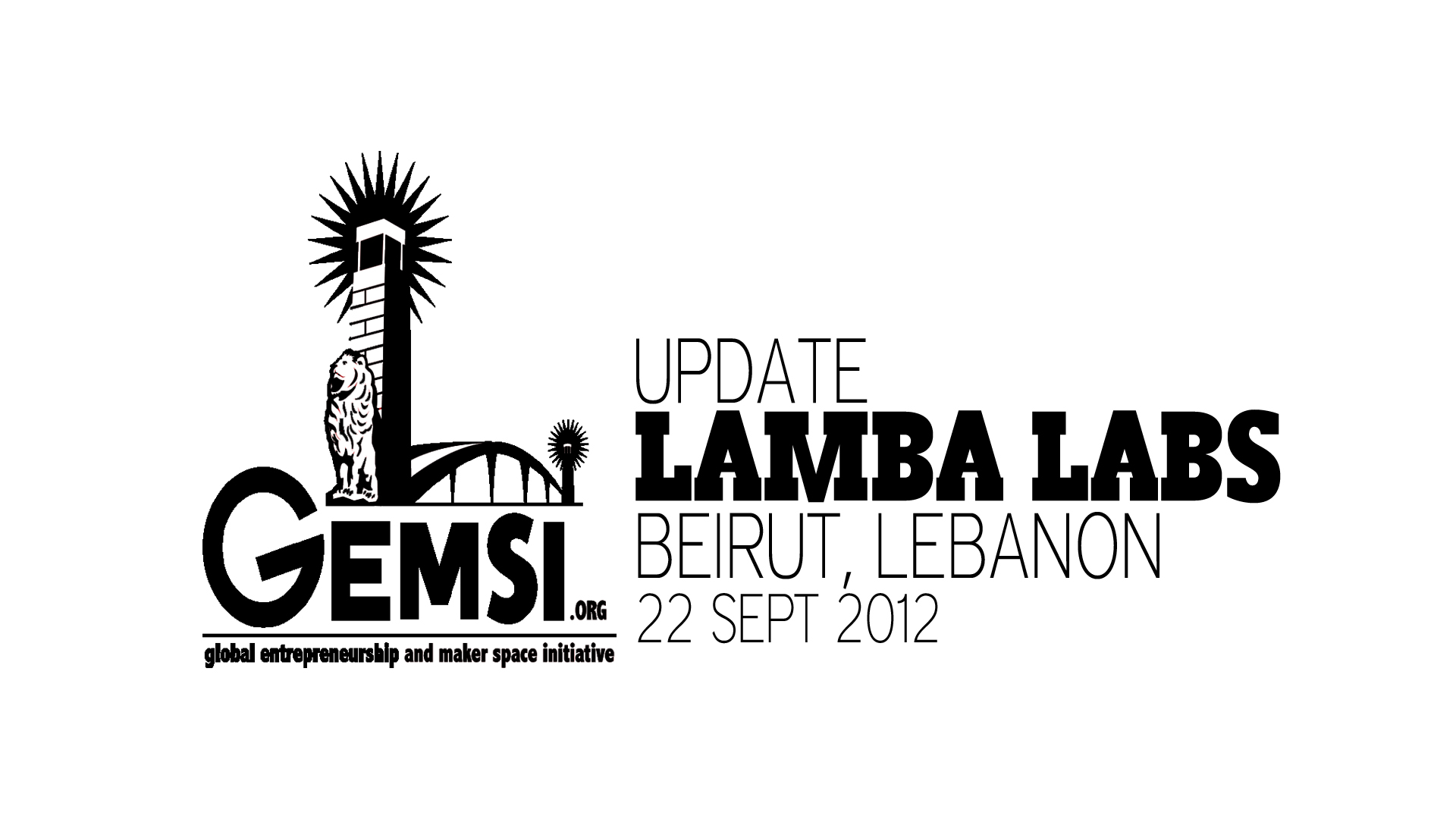 Gemsi Update Screen_Lamba Labs_Beirut_9Sept2012