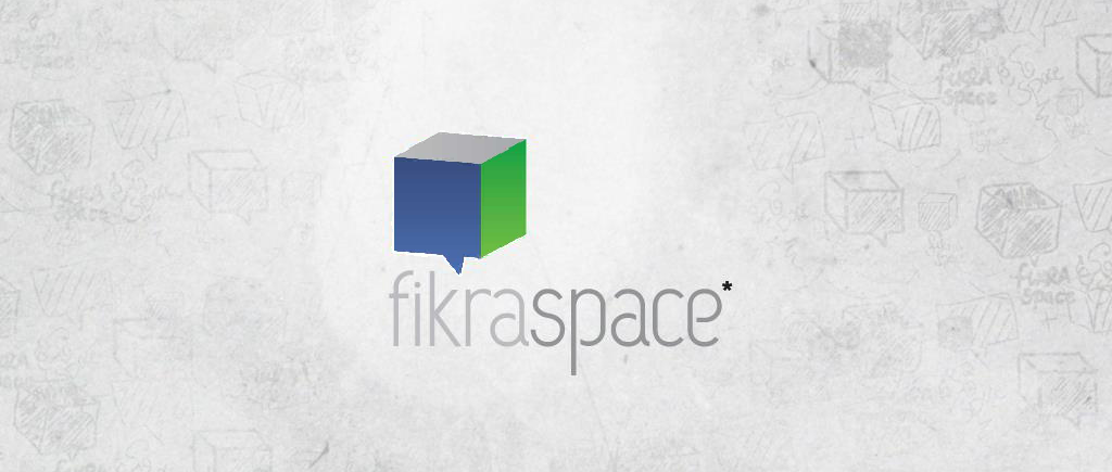 Fikra Space the Baghdad hackerspace logo symbolizes their focus on creativity and thinking outside of the box